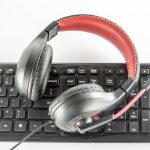 headset keyboard online classes