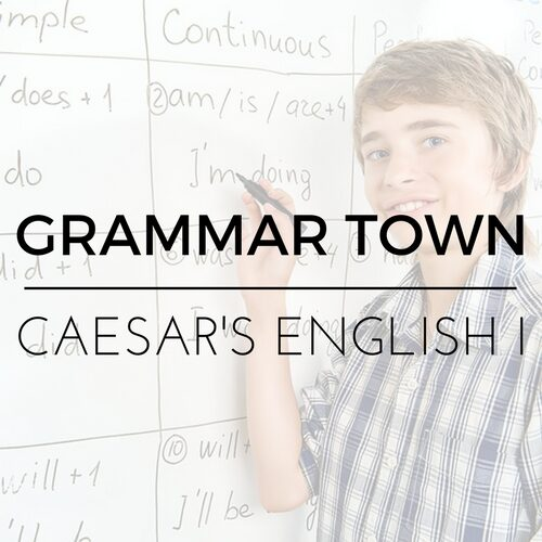 Grammar Town Caesar's English 1