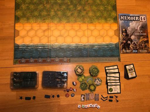 Memoir 44 board game